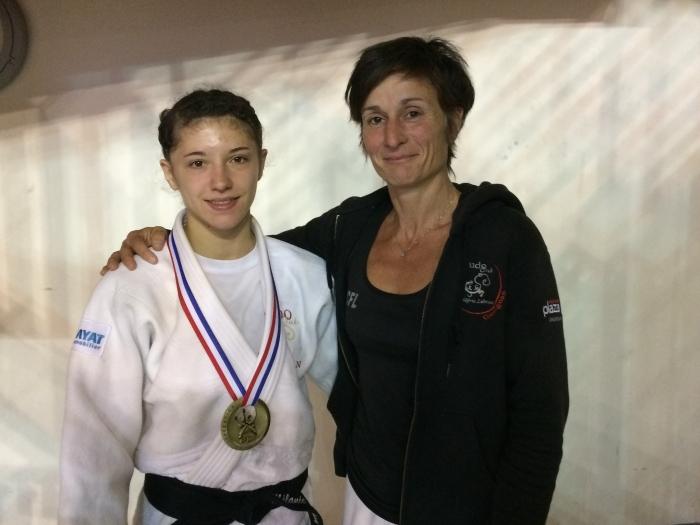 MELANIE FRIGOUL 2 médailles Nationales et 1 Internationale