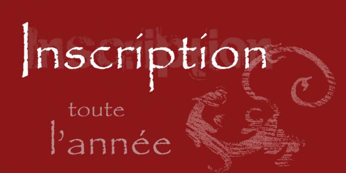 INSCRIPTIONS  /PORTES OUVERTES SEPTEMBRE 2016