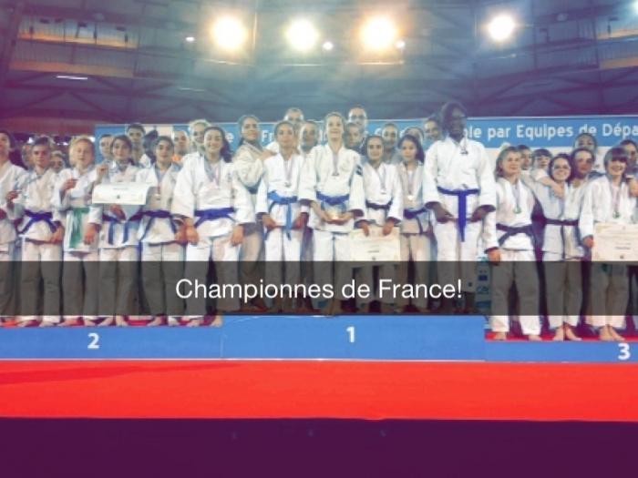 CHAMPIONNES DE FRANCE MINIMES