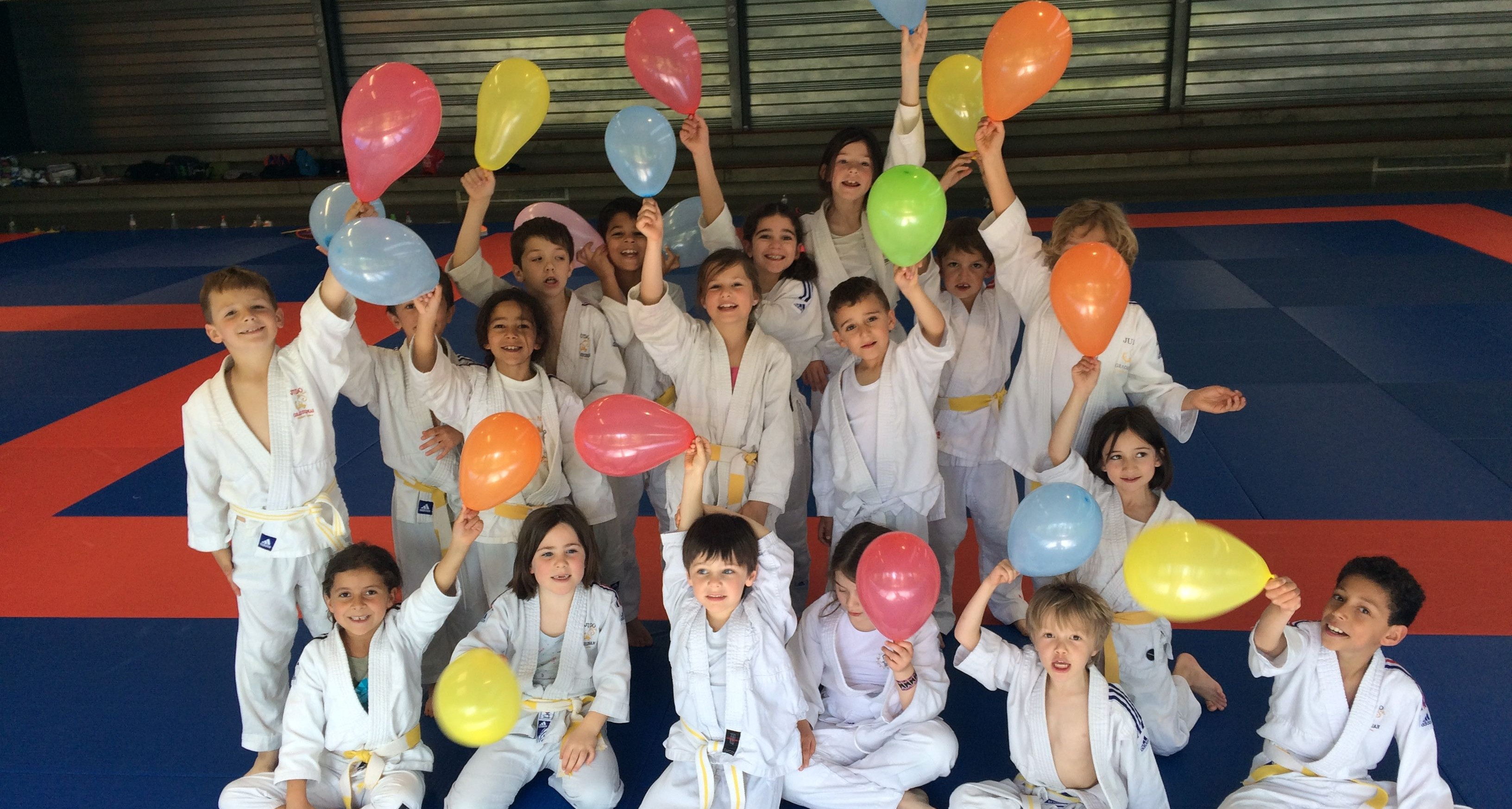 Pré-poussins Judo Club JCFL