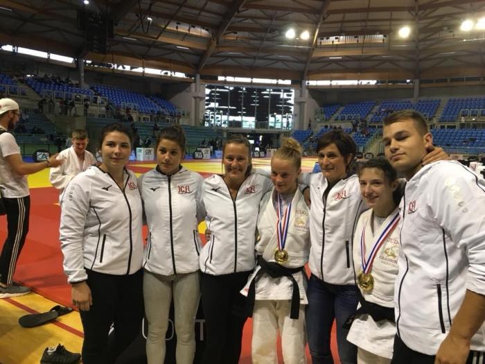 Deux Championnes de France Juniors 2018