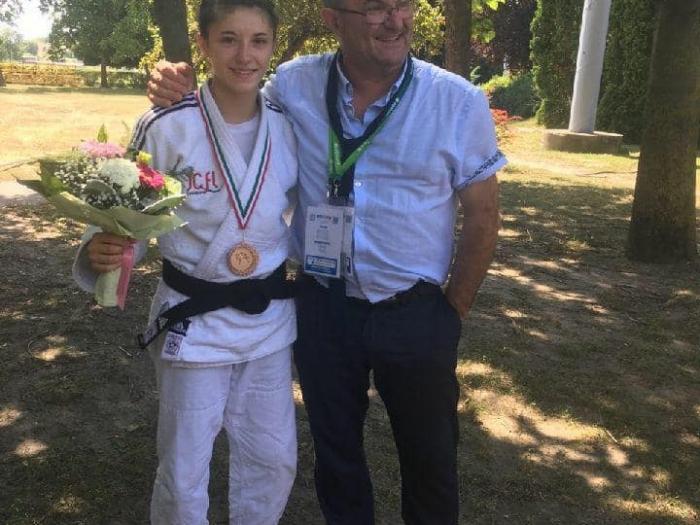 Sélection au Championnat du monde de Mélanie Frigoul
